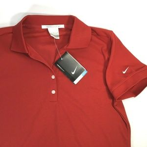 Nike Golf~Dri Fit~Stay Cool~V Neck Polo~